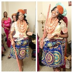 Sonume_dp Nigerian Wedding: 20 Beautiful Rivers/ Ijaw Brides, Their Style, & Their Flawless Makeovers | Nigerian Wedding