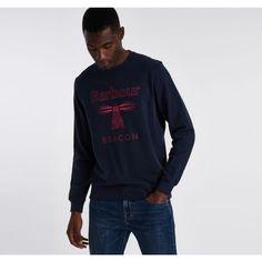 Hoodies & Sweatshirts | Barbour Beacon Barbour, Hoodies, Sweatshirts, Graphic Sweatshirt, Long Sleeve, Sweaters, Mens Tops, Fashion, Moda