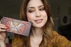 Kat Von D Inspired Makeup Look + Monarch Eyeshadow Palette + Makeup and Beauty Spring 2014