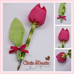1 million+ Stunning Free Images to Use Anywhere Felt Crafts, Fabric Crafts, Diy And Crafts, Crafts For Kids, Felt Flowers, Diy Flowers, Fabric Flowers, Pen Toppers, Flower Pens