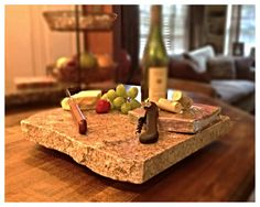 Upcycled Granite Cheese Board by CountertopCouture on Etsy