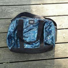 "Blue vs pink sequin weekender bag Blue sequin va pink weekender back. 16"" length, 10"" deep, 16 width. Strap drop 8 inches. Bags Travel Bags"