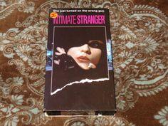 Intimate Stranger (VHS, 1992) OOP Paramount! Debbie Harry Thriller! *NOT ON DVD*