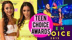 TEEN CHOICE AWARDS with Niki and Gabi!