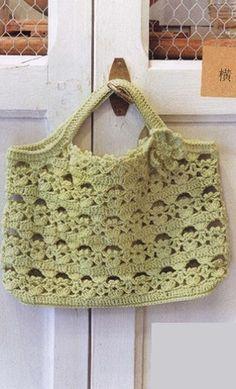 Crochet Handbag - Free Crochet Diagram - (woman7)