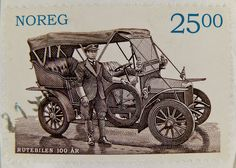 norwegian stamp