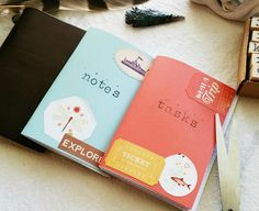 Make Your Own Midori Traveler's Notebook Passport- Sized Inserts