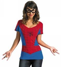 Spider Girl T-Shirt #Spiderman #Halloween