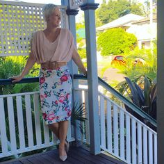 Work Skirts, Pencil Skirts, Instagram Posts, How To Wear, Fashion, Moda, Fashion Styles, Printed Pencil Skirt, Fasion