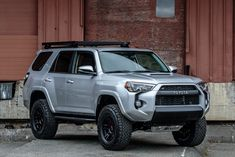 2017 Toyota row with TRD Pro Front end Toyota 4runner Trd, Toyota 4x4, Toyota Trucks, Lifted Ford Trucks, Jeep Truck, 4x4 Trucks, Lifted 4runner, Toyota Tacoma Accessories, 4runner Accessories