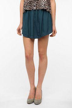 Kimchi Blue Soft Woven Full Skirt