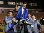 Europeans rally to win Ryder Cup