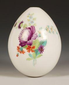 Antique Russian Porcelain Easter Egg.