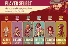 Player Select! by zeratanus on DeviantArt