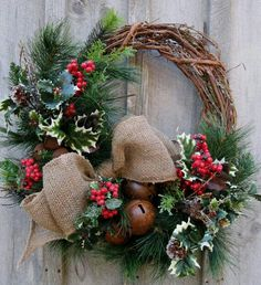 Wreaths kinda lame but the bells are awesome!!