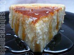 Otra tarta también tipica de Galicia, es la de requesón. La cual como tantas recetas, admite cantidad de variantes, y aunque he probado muc... Sweet Recipes, Cake Recipes, Dessert Recipes, Spanish Desserts, Sweet Cooking, Delicious Deserts, Latin Food, Sin Gluten, Cheesecake
