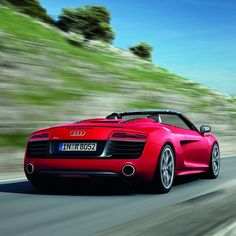 2013 Audi R8 this is my dream car but I want it in grey:) only a quarter of a million.