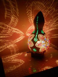 bead gourd lamp