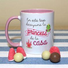 En esta taza desayuna la princesa de la casa
