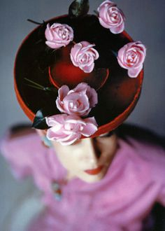 Vogue, August, 1944. Photo: John Rawlings. Pinned this for Rashi,I know hell love it!