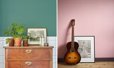 It's all in the details. Creating a personal touch in the bathroom with attack chest ow drawers. The generous green wall paint is Alcro Sommarlöv. Bedroom wall in pink and mauve , Alcro Landsort and Aubergine. Green Painted Walls, House Painting, Bedroom Wall, Color Inspiration, Pink, Milkshake, Mauve, Drawers, Touch