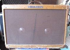 """RORY GALLAGHER´S FENDER TWEED TWIN This is one of Rory Gallagher's Fender """"High powered"""" Tweed Twin's. This particular amplifier was used by Rory, Live when he played in the United States"""