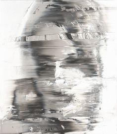 Andy Denzler -Distorted Face I, 2009, oil on canvas, 80 x 70