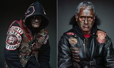 Haunting portraits of the notorious Mighty Mongrel Mob gang