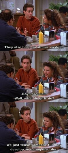 One of my favorite Elaine quotes. I quoted it just the other day!