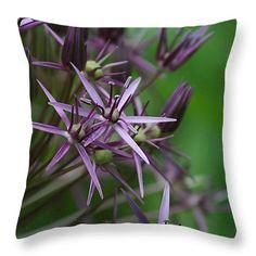 """Allium Detail Throw Pillow 14"""" x 14"""""""