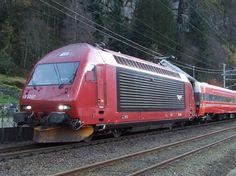 NSB El 18 2257 toward Oslo. - by Andreas Mack - 30 october 2011 Electric Locomotive, Steam Locomotive, Swiss Railways, Bonde, Commercial Vehicle, Oslo, Switzerland, Trains, Europe