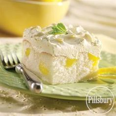 Pockets of Lemon Cake from Pillsbury® Baking