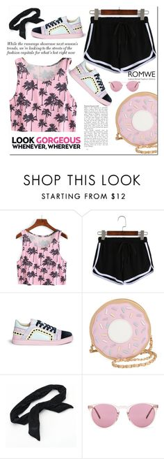 """BLACK SHORTS"" by lovepeacehopefaith ❤ liked on Polyvore featuring Sophia Webster, Nila Anthony, Candie's and Oliver Peoples"