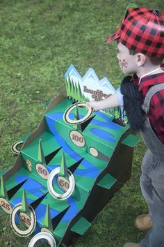 Celebrate your kid's birthday in style with a Lumber Jack Party Supplies! #Kids #Party #BirthdayExpress