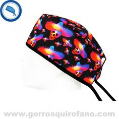 http://www.gorrosquirofano.com/producto/gorros-quirurgicos-calaveras-colores-sombrero-mexicano/ Gorros Quirurgicos Calaveras Colores Sombrero Mexicano
