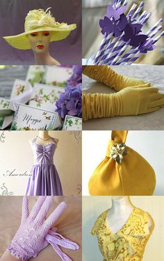 Lavender and Lemons Garden Party by Jill Holdaway on Etsy--Pinned with TreasuryPin.com