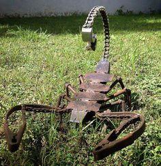 Avoid this creature  #metal #art