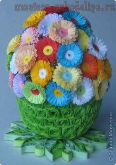 Master-class for quilling: Casket-egg Paper Quilling Tutorial, Origami And Quilling, Quilled Paper Art, Quilling Paper Craft, Quilling 3d, Quilling Flowers, Quilling Patterns, Quilling Designs, Paper Flowers