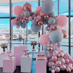 34 Creative Baby Shower Themes For Your Baby 2020 - Page 7 of 34 - coloredbikinis. Deco Baby Shower, Baby Shower Balloons, Shower Party, Baby Shower Themes, Baby Shower Decorations, Baby Balloon, Girl Christening Decorations, Balloon Wedding, Shower Favors