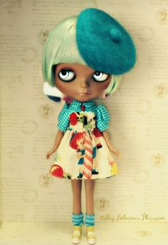 Izzy Is Still Available For Adoption in the Etsy Shop! Heather Sky Custom by My Delicious Bliss