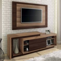The minimalist TV rack design is the most suitable furniture to decorate the room in your minimalist home as a place to put the TV. The TV is an electronic item that is always at home. Architecture Bathroom, Tv Wall Design, Decor Interior Design, Tv Furniture, Tv Shelf Design, Tv Design, Rack Design, Tv Rack Design, Living Room Tv