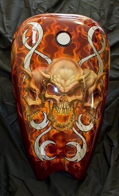 Custom Motorcycle painting - Google Search More