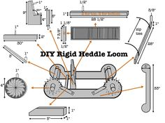 Build Your Own Rigid Heddle Loom – Designs on 9th