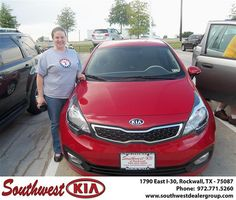 Congratulations to Corrine Book on the 2013 #KIA #Rio