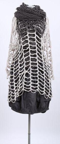 rundholz - Cashmere Pullover Oversize große Löcher mandel - Sommer 2015 - stilecht - mode für frauen mit format...