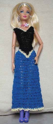 Ravelry: thoustond's Barbie Frozen dress