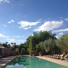 Poolside @Hotel Les Deux Tours Marrakech by Magnus Omme #Marrakech - may 2014