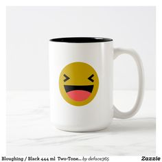 Bloughing / Black 444 ml  Two-Tone Mug
