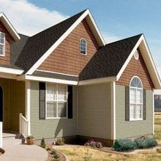 1000 images about house siding options on pinterest for Cheap siding options for homes