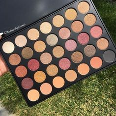 Morphe Brushes 35F Palette is a new upcoming eyeshade palette. it has a lot of very nice shimmer shades and few mattes. Check out more information in my post